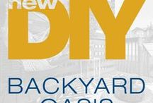 Backyard Oasis - The DIY Mommy / We partnered with The DIY Mommy to bring you this incredible backyard oasis in our new Alma show home in The Orchards. #BrookfieldDIY