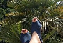 Espadrilles nähen / Schuhe von Hand nähen