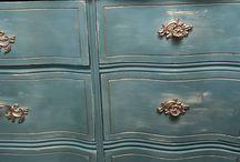 Painted Furniture Portfolio / Furniture I have refurbished. PJH Designs