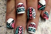 Girly Nails / by Lexie Barber
