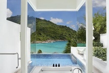 I ♥ showers & Luxurious Bathroom Oases / by Darlene Perry