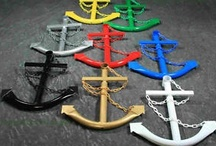 Anchors / Collection of real anchors, and objects with an anchor motif / by Bobbie