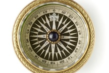 Compass Rose / Collection of compasses of all sorts, and objects with a compass rose motif