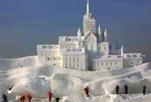 Sand, Snow & Ice Sculpture