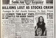 Headlines ~ History / News headlines about significant events and famous people.