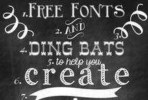 FONTastic! / If you LOVE to write like I do, these fonts will excite you too!