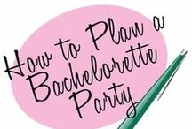 Bachelorette Party / Send your favorite bride-to-be off in style ... with a blowout bash of epic proportions.  / by Lovers Lane