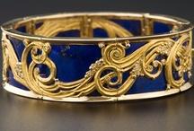 Lapis Lazuli / Jewelry and objects made from lapis lazuli.