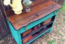 furniture given new life / by Michelle Rawson