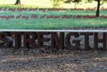 STRENGTH / Strength is my one word for 2015.