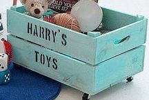 Toys storages ideas