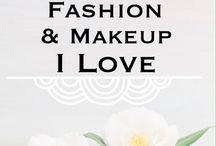 Fashion & Makeup I Love / Fashion and makeup I love.
