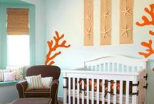 """Nursery Ideas  / Possibly planning an """"Under the Sea"""" themed nursery for our little girl :)  / by Gracie Ryan"""
