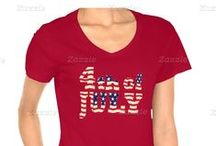 Patriotic 4th of July / Independence Day t-shirts, gifts, pictures and ideas for the 4th of July.