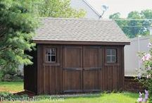 Garden Sheds / Amish built garden sheds in California: Designed and built by Amish workers in Pennsylvania, then assembled on site by our own crews. Display lots in Rocklin and Auburn, California, and available in the San Francisco Bay Area and SoCal as well.