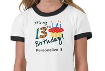 Birthday T-shirts, Clothes and Personalized Gifts