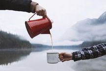 The Great Outdoors / One of our favorite things to do with tea - make a thermos and get outside! We're getting inspiration for our next trip right here.