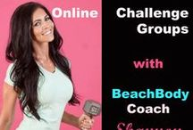 Online Challenge Groups With BeachBody Coach Shannon Hargrave / This board is about BeachBody Online Challenge Groups  and a little sneak peak into my challenge groups!   For more information on Challenge groups visit www.ShannonHargrave.com