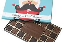 Christmas Chocolates in a Box