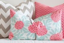 pillows make me happy. / by Jen Engelhardt