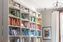 Books / Beautiful bookshelves, favorite books, and plenty of to-be reads.