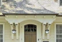 ENTRANCES AND DOOR DETAILS / Exterior doors & entrances / by Joanne Dallas