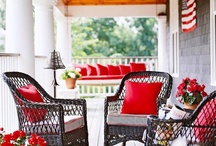 Home Decor--Front Porch / by Courtney Bell