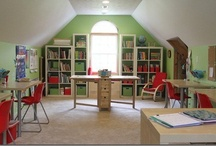 Home Decor--Homeschool Room / by Courtney Bell