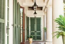 VERANDA / Porch Envy - Verandah - Piazza - Terrace - Gallery - Potico - Galilee - Sunporch - Porte Cochere / by Joanne Dallas