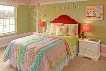 Home Decor--Girl Room / by Courtney Bell