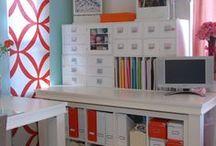 Craft Room Ideas / by Caroline Rabideau