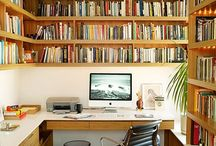 Study/Den / #decorating #study #den