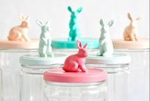 Running towards Easter / Here you will find all things that are related to Easter! For example crafts, vintage inspiration and even some food recipes. So let's get hopping down that bunny trail and make something awesome!