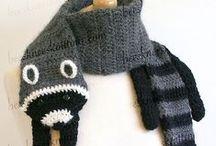 Knitting and Crocheting / by Caroline Rabideau