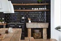 Cozinha / Idéias de interiores para a cozinha