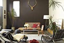 Sala de Estar / Ideias para a sala de estar e tv