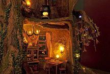 Wood / Fairy Garden / #wood #shade #garden #logs #fairy