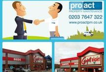 Before & After / Before and after pictures of jobs that have been completed by the Proact Team!