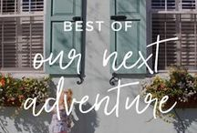 best of | OUR NEXT ADVENTURE / Tips and inspiration for seeing the world with tiny explorers, from our family travel blog 'Our Next Adventure'.  //  #familytravel #travelwithkids #wanderlust  //  Family Travel Tips | Travel with Kids | Travel with Baby | Travel with Toddler | Flying with Kids | Flying with Baby | Worldschooling | Budget Travel | Adventure Travel | Unique Destinations | United States | California | Mexico | Italy | France | Road Trip | Packing List | Camping Vacation | Wanderlust Inspiration