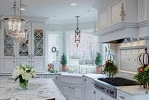 Dream Kitchen / Inspiration for your dream kitchen. Make your dream reality with mouldings from Menzner Hardwoods!