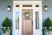 Curb Appeal / Curb appeal adds so much value to your property. Check out some of our favorite trends, and tips on how you can amp up your home's exterior.