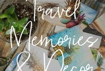 travel | MEMORIES & DECOR / Inspiration for travel-themed decor, DIY projects, souvenirs and memories. ∙∙ #familytravel #travelwithkids #worldschool #wanderlust ∙∙ Family Travel | Travel with Kids | Travel with Baby | Travel with Toddler | Worldschooling | Family-Friendly | Craft Projects | Travel-Themed Decor | Travel Journal | Souvenirs