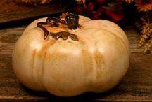 Fall Autumn and Pumpkins / by Sharon Hutson Hurricane Pottery