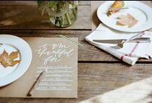 Party // Entertaining / Ideas for entertaining, cards, decorations, place settings, events, and parties