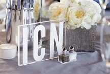 Wedding // Decoration / decoration ideas for wedding ceremony and reception including colors, flowers, diy, creative touches, chairs, centerpieces, lighting, and paper elements