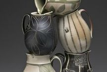 Tea Pots and Pitchers / Vessels for Pouring / by Sharon Hutson Hurricane Pottery