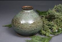 Crocks, Jugs, Vases, Jars, Bottles / Containers / by Sharon Hutson Hurricane Pottery