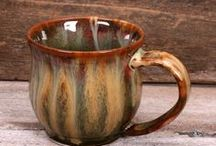 Mugs, Cups, and Tumblers / by Sharon Hutson Hurricane Pottery