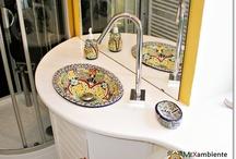 Bunte Waschbecken in Deutschland & Österreich / Bunte & originelle Waschbecken aus Mexiko von Mexambiente. Wir haben wunderschöne & einzigartige Waschbecken unter www.mexambiente-shop.com