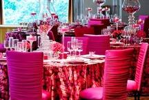 Posh Pink Tables